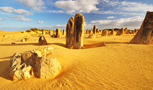 The Pinnacles Desert, Western Australia.