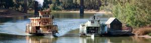 steamer boat Echuca Murray river