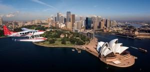 seaplane Sydney Harbour Opera House