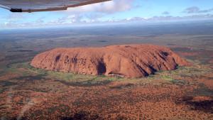 Ayers Rock C182 flying safari