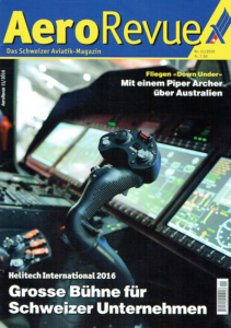Ayers rock flying Aero Revue published article